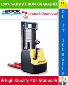 Hyster S1.2S, S1.5S (C442) Pedestrian Stackers Service Repair Manual | eBooks | Technical