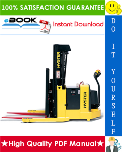 Hyster W20ZR, W30ZR, W40Z (C453) Walkie Reach Stacker Service Repair Manual | eBooks | Technical