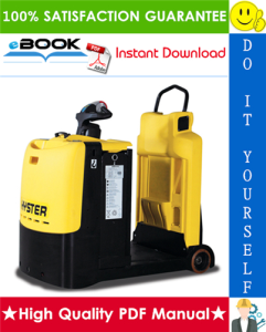 Hyster T5ZAC (C476) Electric Tow Tractor Service Repair Manual | eBooks | Technical