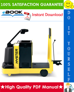 Hyster T7ZAC (C477) Electric Tow Tractor Service Repair Manual | eBooks | Technical