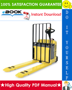 Hyster W50Z (D215) Walkie Pallet Truck Service Repair Manual | eBooks | Technical