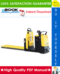 Hyster LO2.0, LO2.0L (D444) Low Level Order Pickers Service Repair Manual | eBooks | Technical