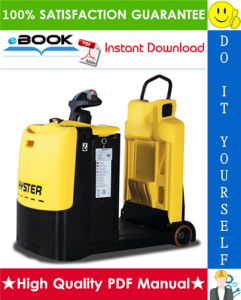 Hyster T5ZAC (D476) Towing Tractor Service Repair Manual | eBooks | Technical