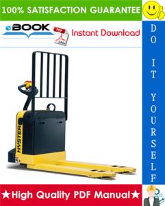 hyster w60xt, w80xt (e135) electric pallet truck service repair manual