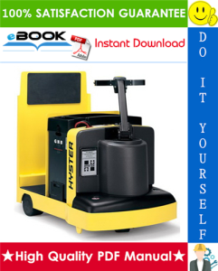 Hyster T5XT (E142) Tractor/Rider Service Repair Manual   eBooks   Technical