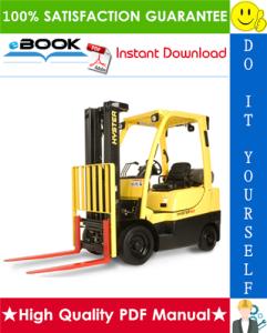 Hyster S50CT (A267) Lift Truck Service Repair Manual | eBooks | Technical