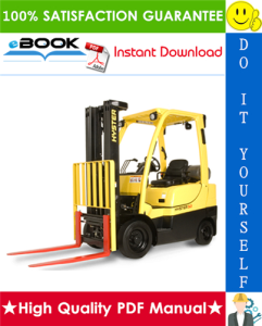 Hyster S25XL, S30XL, S35XL (B010) Forklift Trucks Service Repair Manual | eBooks | Technical