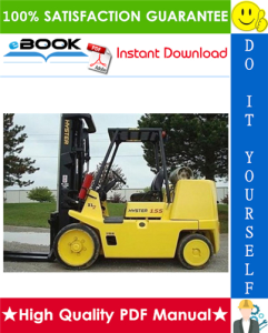 Hyster S135XL2, S155XL2, S135XL, S155XL, S6.00XL, S7.00XL (B024) Forklift Trucks Service Repair Manual | eBooks | Technical