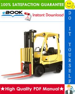 hyster s50ct (b267) internal combustion cushion tire lift trucks service repair manual