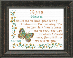 name blessings - kyra