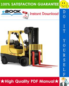 Hyster S3.50XL (S70XL), S4.00XL (S80XL), S4.50XL (S100XL), S5.00XL (S110XL), S5.50XLS (S120XLS), S5.50XL (S120XL) [D004] Forklift Trucks Service Repair Manual | eBooks | Technical