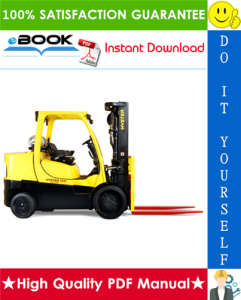 hyster fortis s135ft, s155ft (d024) compact internal combustion forklift service repair manual