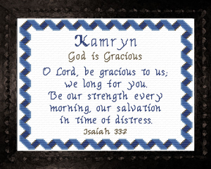 name blessings - kamryn