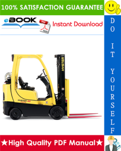 Hyster FORTIS S30FT, S35FT, S40FTS (E010) Cushion Tire Forklifts Service Repair Manual | eBooks | Technical