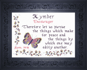 name blessings - kymber