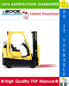 Hyster S30FT, S35FT, S40FTS (F010) Cushion Tire Forklifts Service Repair Manual | eBooks | Technical
