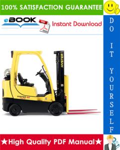 Hyster Fortis S40FT, S50FT, S60FT, S70FT, S55FTS (F187) 4-Wheel Cushion Tire Lift Trucks Service Repair Manual | eBooks | Technical