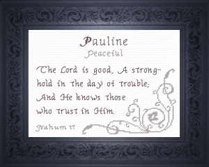 name blessings - pauline 2