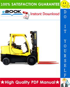 Hyster S135FT, S155FT (G024) Forklift Trucks Service Repair Manual | eBooks | Technical
