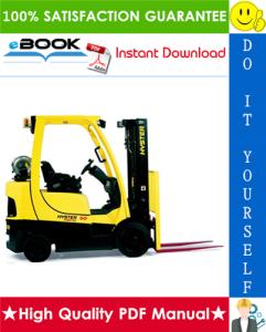 Hyster S40FT, S50FT, S60FT, S70FT, S55FTS (G187) Forklift Trucks Service Repair Manual | eBooks | Technical