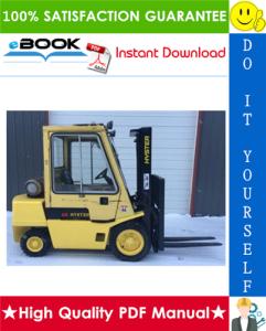 Hyster H2.00XL (H40XL), H2.50XL (H50XL), H3.00XL (H60XL) [A177] Forklift Trucks Service Repair Manual   eBooks   Technical