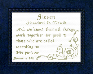 name blessings - steven 2