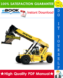 hyster r45-27ih, rs45-30ch, rs46-30ih, rs46-33ch, rs46-33ih, rs46-36ch (a222) reach stacker service repair manual