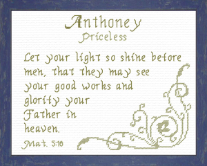 name blessings - anthoney