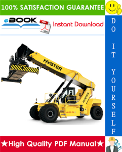 Hyster HR45-EC, HR48-EC (A228) YardMaster Diesel Container Handler Service Repair Manual | eBooks | Technical