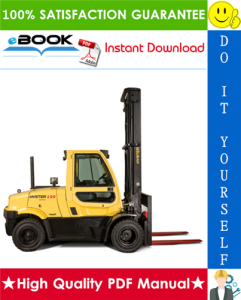 Hyster H170FT, H175FT36, F190FT (A299) 4-Wheel Pneumatic Tire Forklifts Service Repair Manual | eBooks | Technical