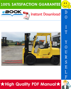 Hyster H2.50DX, H3.00DX (A966) Forklift Trucks Service Repair Manual | eBooks | Technical