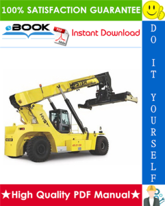 Hyster HR45-27, HR45-31, HR45-36, HR45-40, HR45-41S, HR45-41L, HR45-41LS (B222) Reachstacker Container Handlers Service Repair Manual | eBooks | Technical