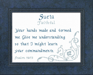 name blessings - sueta