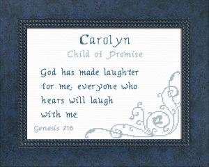 name blessings - carolyn