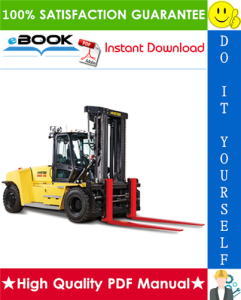 hyster h360-36hd, h360-48hd (b238) high-capacity forklift trucks service repair manual