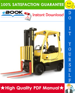 Hyster H50CT (B274) Internal Combustion Cushion Tire Lift Trucks Service Repair Manual | eBooks | Technical