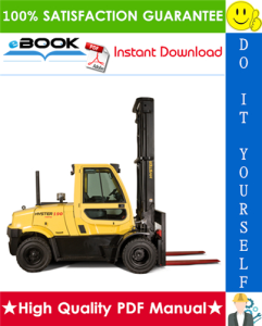 Hyster H170FT, H175FT36, H190FT (B299) 4-Wheel Pneumatic Tire Forklifts Service Repair Manual | eBooks | Technical