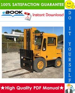 Hyster H60C, H70C, H80C, H90C (C005) Forklift Trucks Service Repair Manual | eBooks | Technical