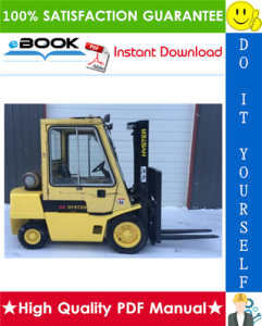 Hyster H2.00XL (H40XL), H2.50XL (H50XL), H3.00XL (H60XL) [C177] Forklift Trucks Service Repair Manual | eBooks | Technical