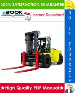 Hyster H400HD, H400HDS, H450HD, H450HDS (C236) High-Capacity Forklift Trucks Service Repair Manual | eBooks | Technical