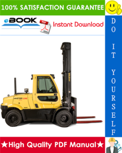 Hyster H8.0FT (H170FT), H8.0FT9 (H175FT36), H9.0FT (H190FT) [C299] 4-Wheel Pneumatic Tire Forklift Trucks Service Repair Manual | eBooks | Technical