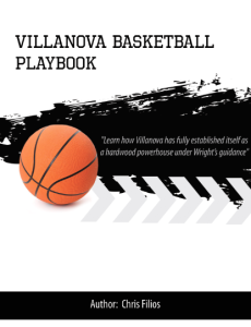 Villanova Basketball Playbook | eBooks | Sports