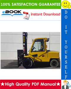 Hyster H60E H70E H80E H100E H110E Americas (D005) Forklift Trucks Service Repair Manual | eBooks | Technical
