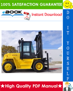 Hyster H165XL, H190XL, H210XL, H230XL, H250XL, H280XL (D007) Forklift Trucks Service Repair Manual | eBooks | Technical