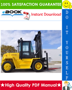 Hyster H165XL, H190XL, H210XL, H230XL, H250XL, H280XL (E007) Forklift Trucks Service Repair Manual | eBooks | Technical