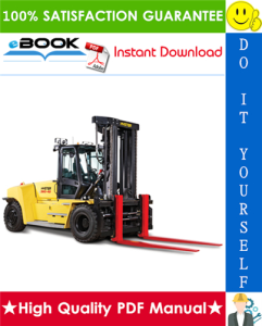 Hyster H300HD, H330HD, H360HD, H360HD-EC (E019) High-Capacity Forklift Trucks Service Repair Manual | eBooks | Technical