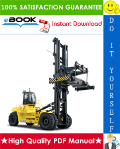 hyster h1050hd-ch, h1150hd-ch (e117) container handlers service repair manual