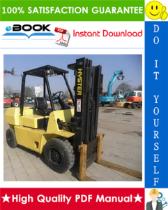 Hyster H40J, H50J, H60JS (F003) Forklift Trucks Service Repair Manual | eBooks | Technical