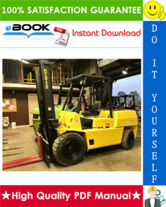 Hyster H70XL, H80XL, H90XL, H100XL, H110XL (F005) Forklift Trucks Service Repair Manual | eBooks | Technical