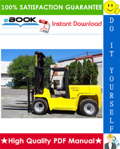 hyster h135xl, h155xl (f006) forklift trucks service repair manual